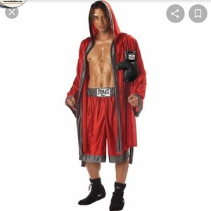 Mens boxing costume